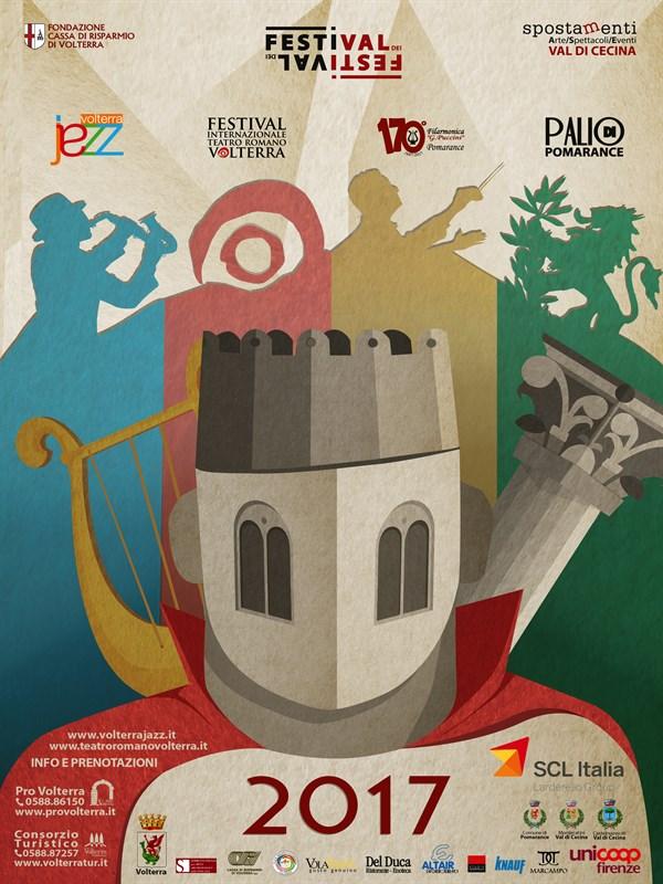 Festival Internazionale Teatro Romano Volterra XV edizione - IL FESTIVAL dei FESTIVAL 2017